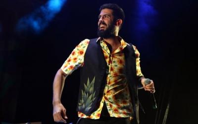 El cantant de La Pegatina, Adrià Salas | Pere Francesch (ACN)