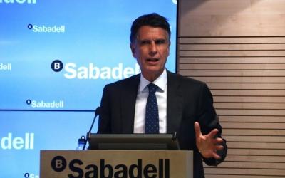 Jaume Guardiola, conseller delegat del Banc Sabadell | ACN