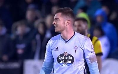 Juan Hernández va anotar els dos gols en Copa contra la Peña Azagresa | RC Celta