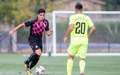Víctor García s'ha estrenat avui amb la samarreta del Centre d'Esports | Marc González Alomà - CES