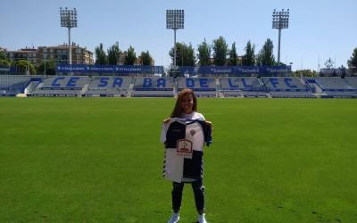 Dalila Barraouhou és una de les noves cares del juvenil femení arlequinat | CES