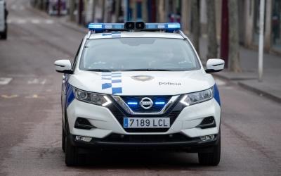 Un vehicle de la Policia Municipal/ Roger Benet