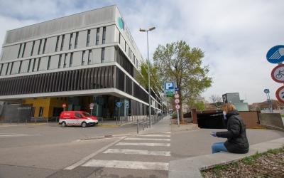 La vuitena planta de l'Edifici Taulí també és zona Covid a partir d'avui | Roger Benet