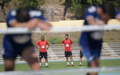 Imatge del primer entrenament de la temporada passada | Roger Benet