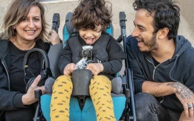 El petit Biel i els seus pares, a Sabadell | Roger Benet