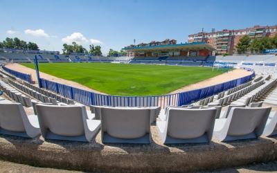 Les obres de l'estadi ja han començat i s'allargaran durant les pròximes setmanes | Roger Benet