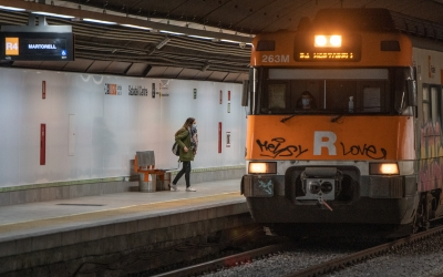 Un tren de l'R4/ Roger Benet