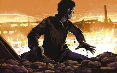 Detall de la portada de 'Nascuts per ser breus'