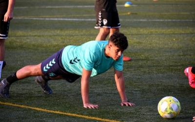 El juvenil del Sabadell ja es va exercitar ahir per primer cop aquesta temporada | CE Sabadell