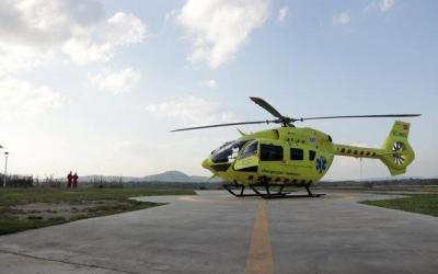 L'helicòpter del SEM té base al Taulí/ SEM