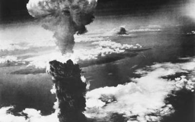 Imatge de la bomba atòmica explotant a Hiroshima/ Cedida