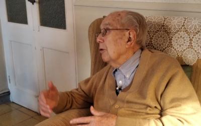 Alfons Soler, durant una entrevista/ Genís Ribé