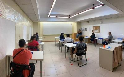 Joves d'Andi Down Sabadell a la formació els dos grups del projecte Esqueix | Andi Down Sabadell