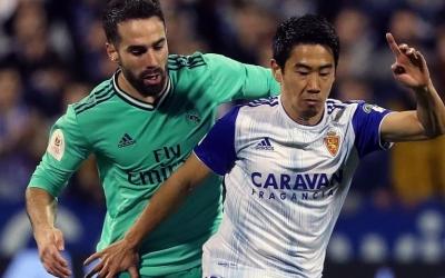 Kagawa, en el partit de Copa de fa uns mesos contra el Real Madrid | EFE