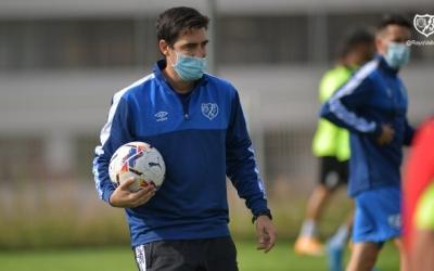 Iraola, en un entrenament aquesta setmana amb el seu equip | Rayo Vallecano