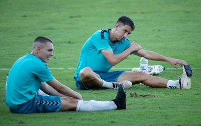 Capó es va lesionar en l'entrenament previ a l'amistós contra l'Andorra | Roger Benet