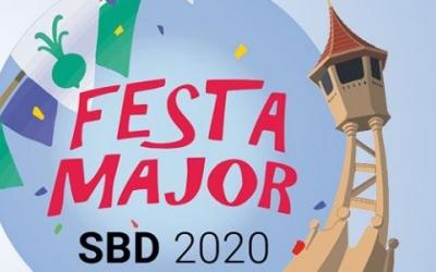 Cartell de la Festa Major anul·lada