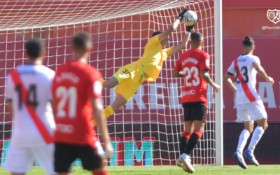 El porter Morro va ser decisiu a Palma perquè el Rayo no hagi encaixat encara cap gol | Rayo Vallecano
