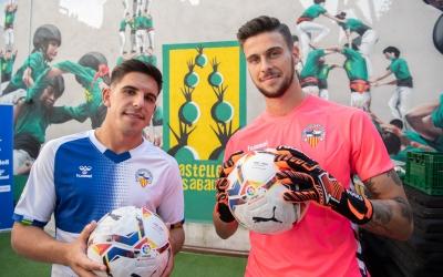 Víctor García i Diego Fuoli, dos dels primers reforços del Sabadell 20/21 | Roger Benet
