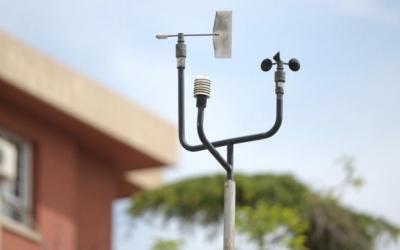 Mesurador de la qualitat de l'aire de la carretera de Prats/ Roger Benet