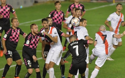 Aquesta ha estat una de les moltes ocasions que ha tingut el Rayo en el partit | Rayo Vallecano