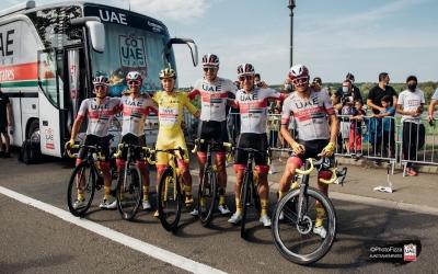 Els sis ciclistes de l'Emirates que van arribar a París | Team UAE