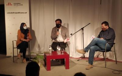 D'esquerra a dreta, NajatDriouech, Juli Fernández i Marc Sanglas | Pau Duran