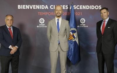 Calzada, amb Javier Tebas en l'acte d'avui | LaLiga