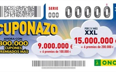 El Cuponazo de l'ONCE deixa 9 milions d'euros a Sabadell