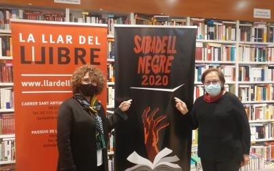 Lídia Urrutia i Rosa Maria Arner, les Dames del Crim, a La Llar del Llibre | Pere Gallifa