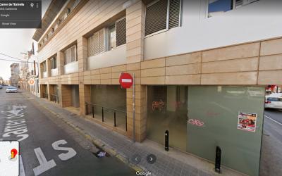 Imatge del nou local al carrer Estrella | Google Maps