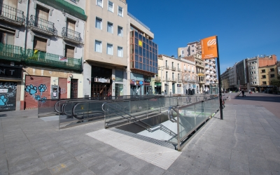 Accés a l'estació Sabadell Plaça Major dels FGC | Roger Benet