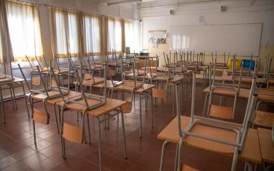 Imatge d'una classe buida | Roger Benet