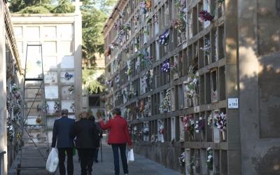 El cementiri de Sabadell, durant Tots Sants de l'any passat/ Roger Benet