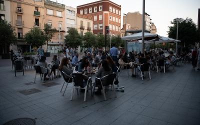 Terrasses al Passeig de la Plaça Major | Roger Benet