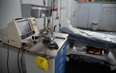 Equipament mèdic instal·lat a l'Hospital Temporal Vallès Salut | Roger Benet