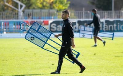 Hidalgo, a l'entrenament d'avui | Roger Benet