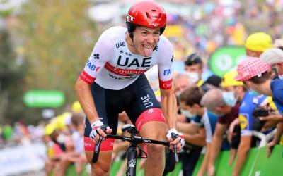 De la Cruz a la contrarrellotge de l'últim Tour, a la qual va acabar vuitè | Emirates