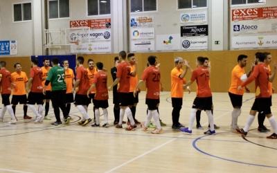 Imatge de la lliga passada en el derbi entre el Nou Escorial i el Grups Arrahona