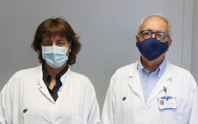 Els investigadors de l'estudi, Gemma Gomà i Antoni Artigas/ Cedida Taulí