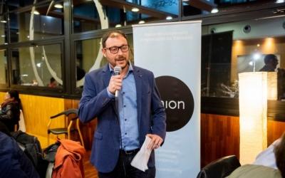 Arnau Bonada, en un acte de la Xarxa Onion | Photocall.cat