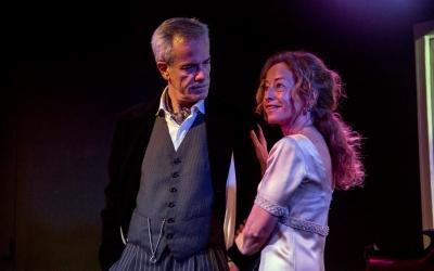 Xajo Gorina i Lídia Gil damunt de l'escenari | Teatre del Sol