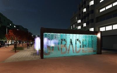 Render del disseny del nou passeig de la Plaça Major | Cedida