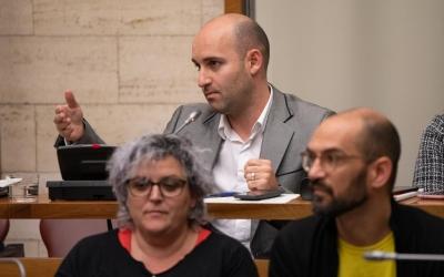 Adrián Hernández, portaveu de Ciutadans | Roger Benet