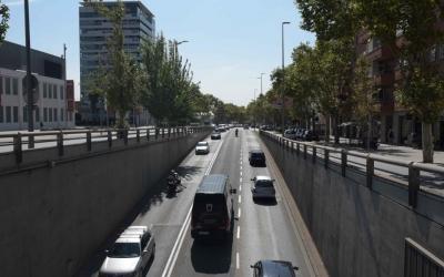 La Gran Via és un dels focus més sorollós de la ciutat | Roger Benet