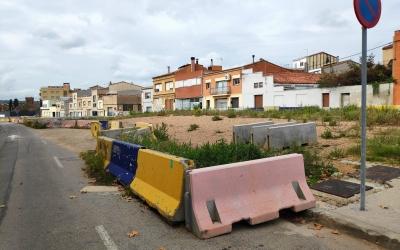 Aquest és l'estat actuat de la zona urbanitzable que ha quedat sobre les vies soterrades | Pau Duran