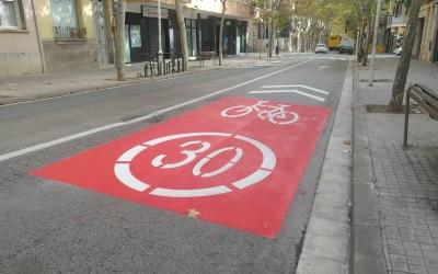 Eix Central al seu pas per l'avinguda 11 de Setembre | Pere Gallifa