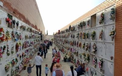 El cementiri de Sabadell, durant Tots Sants de l'any passat/ Arxiu