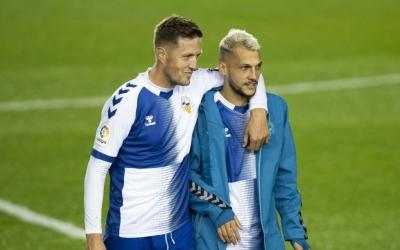 Edgar i Stoichkov, protagonistes en el segon gol del Sabadell aquesta temporada | CE Sabadell