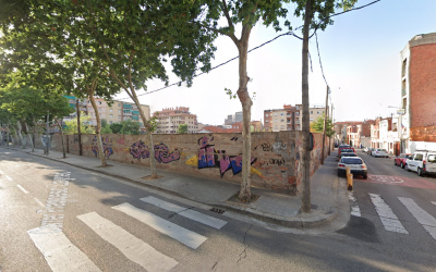 Cantonada del carrer Francesc Layret amb Piferrer | Google Maps